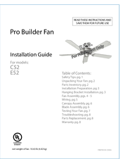 Craftmade Ceiling Fan Wiring Diagram from data2.manualslib.com