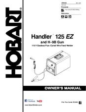 872178_handler_125_ez_product hobart handler 125 ez owner's manual pdf download
