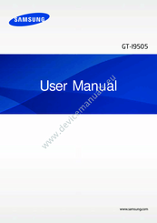 Samsung GT-I9505 User Manual