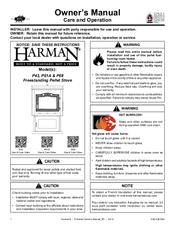 Harman Pellet P61a Manuals