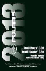 polaris atv 2013 trail boss trail blazer 330 repair manual