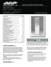 mortex g18d series installation instructions manual pdf