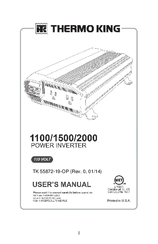 Thermo King 1100 Manuals