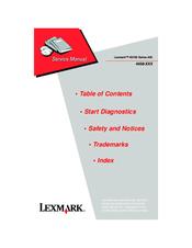 lexmark x6150 4408 k02 manuals rh manualslib com Lexmark X6150 Driver Windows 8 Lexmark X6170