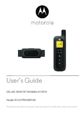 Motorola SCOUTTRAINER100 User Manual