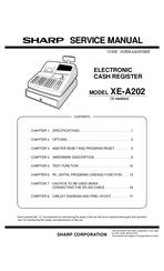 sharp cash register xe a217b manual