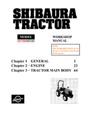 SHIBAURA ST333 WORKSHOP MANUAL Pdf Download