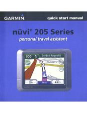 garmin nuvi 205 automotive gps receiver manuals rh manualslib com garmin nuvi 205 owner's manual free download garmin nuvi 205 manual pdf