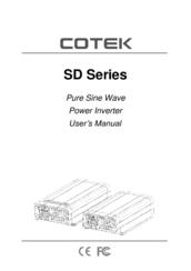 cotek pure sine wave inverter manual