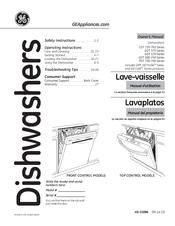 ge gdf 570 series manuals rh manualslib com Top Controls GE Dishwasher Manuals GE Nautilus Dishwasher Manual