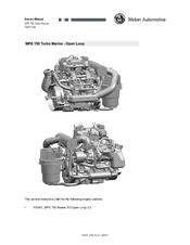 WEBER MPE 750 TURBO MARINE SERVICE MANUAL Pdf Download