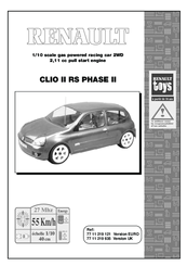 renault clio ii rs phase ii manuals rh manualslib com clio cup user manual renault clio user manual pdf