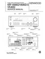 Kenwood KRF-V8080D-S Service Manual
