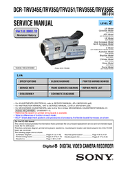 sony dcr trv350 digital handycam camcorder manuals rh manualslib com handycam sony manual español sony handycam manual dcr-sx65