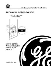 ge arctica pss 27 series manuals rh manualslib com ge profile arctica repair manual ge profile arctica repair manual