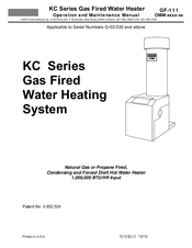 aerco kc series manuals rh manualslib com Basic Boiler Wiring Hot Water Boiler Wiring