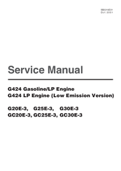 Daewoo GC25E-3 Manuals