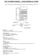 Nec Dt300 Phone Manual change Time