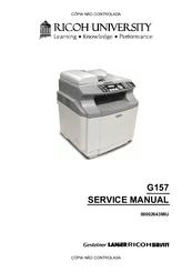 RICOH G157 SERVICE MANUAL Pdf Download
