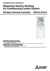Mitsubishi Electric PAR-SL97A-E Instruction Book