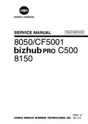 Konica Minolta Bizhub Pro C500 Manuals Manualslib