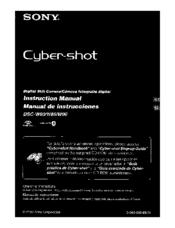 sony dscw90 cybershot 8 1mp digital camera manuals rh manualslib com Sony User Manuals Sony Camcorder Manuals