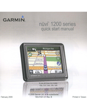 garmin nuvi 1260 manuals rh manualslib com Garmin Nuvi 1450 Manual English Garmin Nuvi 1450 Problems