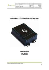 MEITRACK MVT800 USER MANUAL Pdf Download