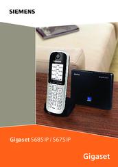 siemens gigaset s675ip manuals rh manualslib com Siemens Telephone Siemens Telephone