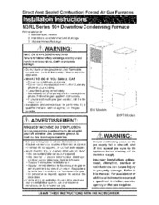 nordyne m3rl 080a bw manuals rh manualslib com