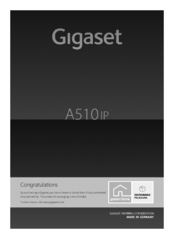 Gigaset A510 IP User Manual