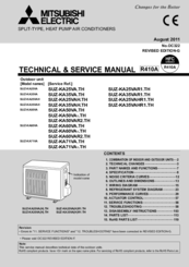 manuals and user guides for mitsubishi mr slim suz-ka71va  we have 1 mitsubishi  mr slim suz-ka71va manual available for free pdf download: service manual