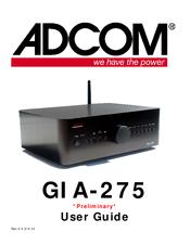 adcom gia 275 manuals rh manualslib com Adcom GFA 7500 Pics adcom gfa-5006 manual