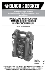 Black & Decker JS350CC Instruction Manual