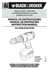 black and decker instruction manual
