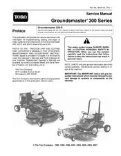 toro groundsmaster 300 series service manual pdf download rh manualslib com