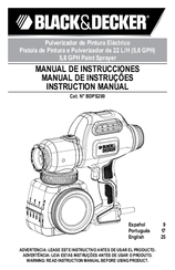 Black & Decker BDPS200 Instruction Manual