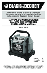 Black & Decker BBC10 Instruction Manual