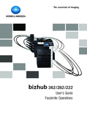 Konica Minolta Bizhub 222 User Manual