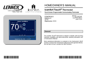 lennox icomfort thermostat. lennox icomfort touch thermostat homeowner\u0027s manual s