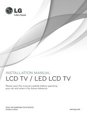 LG MFL62881369 INSTALLATION MANUAL Pdf Download