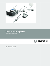 Bosch DCN Next Generation Operation Manual