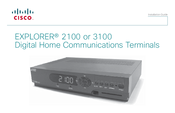 Cisco EXPLORER 2100 Installation Manual