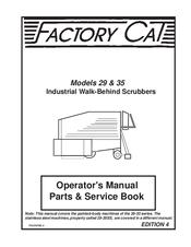 factory cat 29 manuals rh manualslib com factory cat gtx parts manual factory cat parts manual 34-d