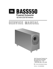 jbl bass550 manuals rh manualslib com DVC Subwoofer Wiring Diagram 1 Ohm Subwoofer Wiring Diagram