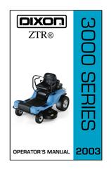 dixon ztr 3303 manuals rh manualslib com Dixon ZTR 3303 Parts Manual PDF Dixon ZTR 3303 Service Manual