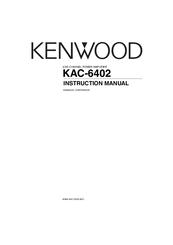 kenwood kac 6402 manuals rh manualslib com Kenwood Amplifier 301T Kenwood KAC- 8405