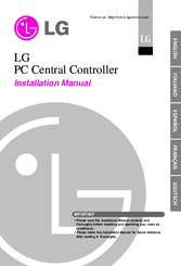 LG PC Central Controller Installation Manual