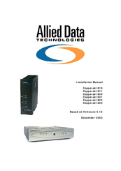 Allied Data CopperJet 810 Drivers for Windows