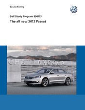 VOLKSWAGEN PASSAT 2012 SERVICE TRAINING Pdf Download